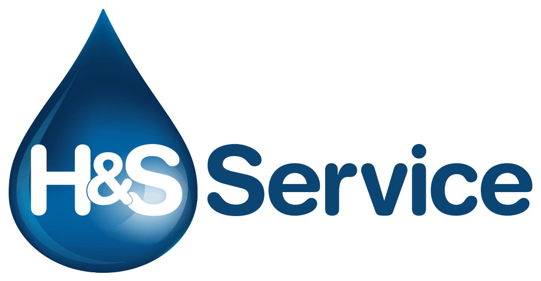 H en S verwarming en sanitair logo